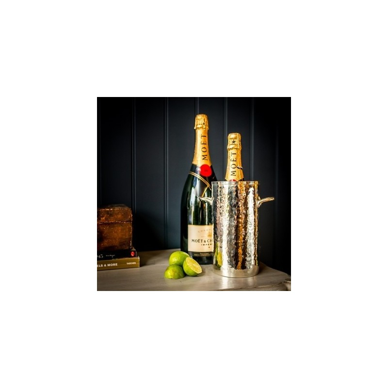Palace Silver Plated Brass Tall Bottle Holder