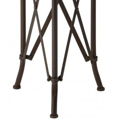 Artisan Side Table with Fir Wood Top