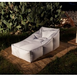 Summer B Italian Outdoor Chaise Longue