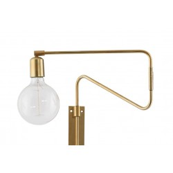 House Doctor Brass Swinging Wall Lamp