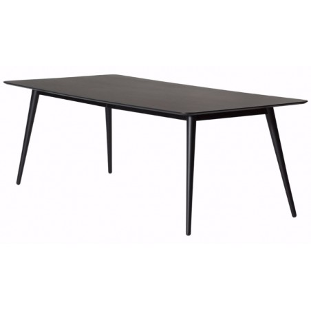 Danish Pheno Black Ash Dining Table | 220cm