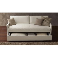 Italian Odino Double Sofa Bed from Pozzi