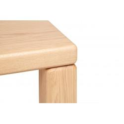 Element Solid European Oak Dining Table by Objekten Systems | 200 or 240cm