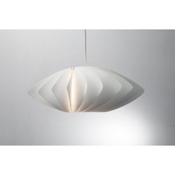 Twist White Pendant Lamp Shade Norla Design