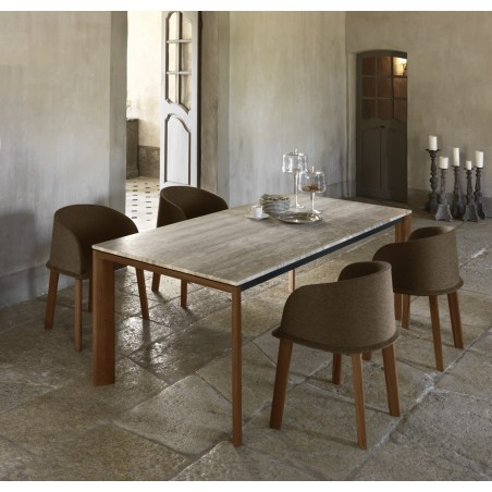 Cleo Outdoor Dining Table from Talenti