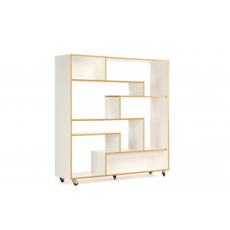 Southbury White Shelving Room Divider