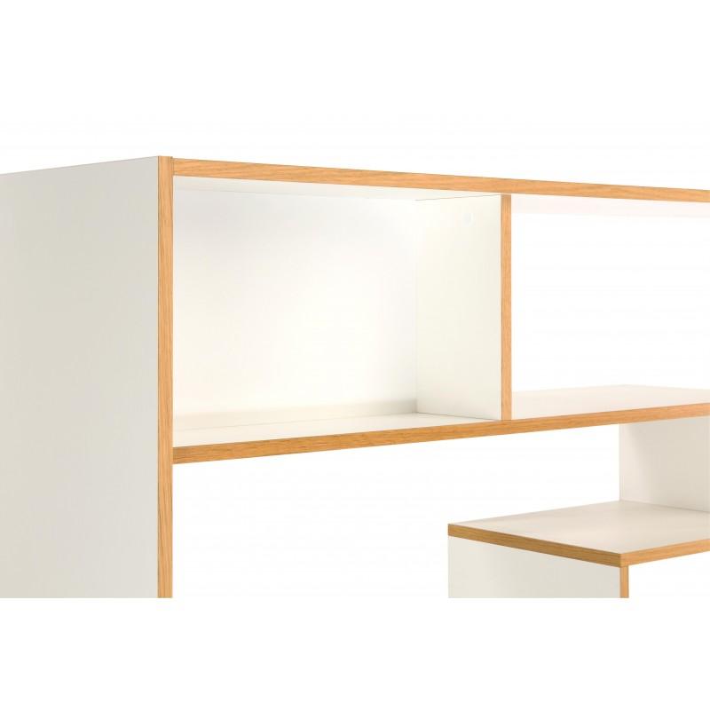 Southbury White Shelving Room Divider