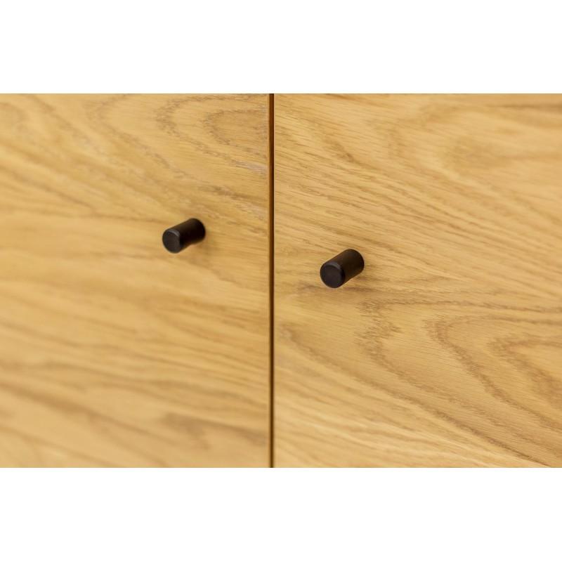 Jugend Sideboard | Oak Tipped Black Steel Legs