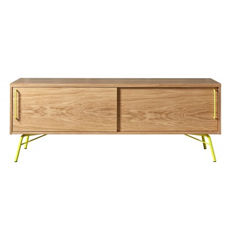Ashburn Media Unit | Yellow Legs and Handles