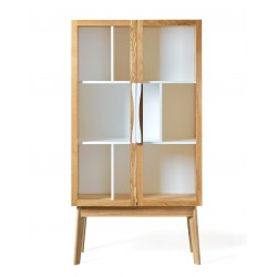 Avon Modern Display Cabinet | White