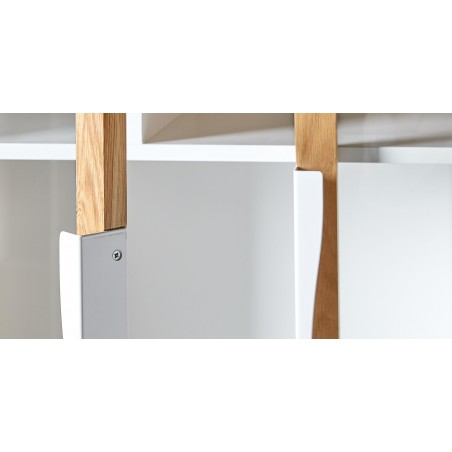 Avon Modern Display Cabinet | White
