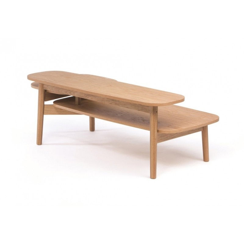 Eichberg Oak Coffee Table with 3 Tiers