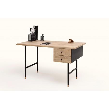 Farsta Desk Solid Wood Legs