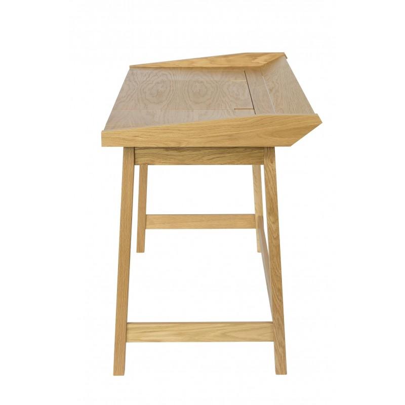 Baron 3 Flaptop Oak Desk