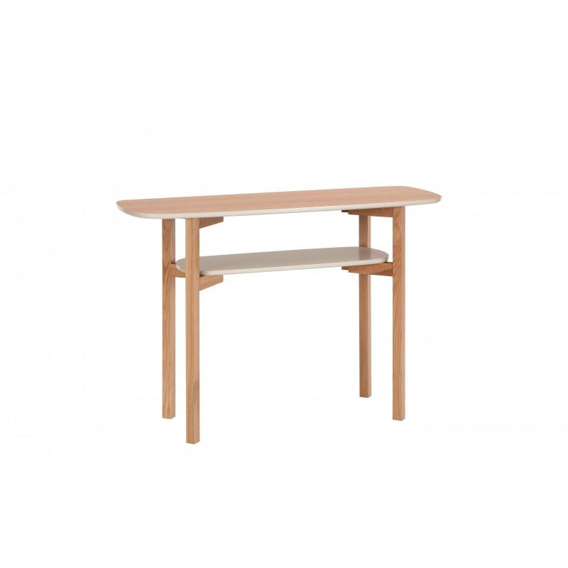Woodman Cee Oak Console Table