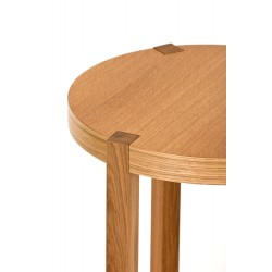 Brentwood Round Oak Side Table