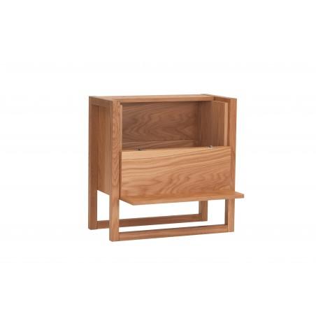 Woodman NewEst Oak Floor Home Mini Bar