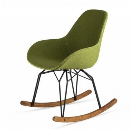 Kubikoff Diamond Dimple Tailered Rocking Chair