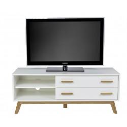Kensal Nordic Oak White TV Media Unit