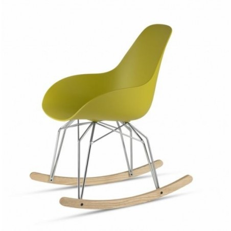 Kubikoff Diamond Dimple Closed Rocking Chair