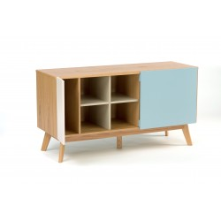 Chaser Multi-Coloured Oak Sideboard
