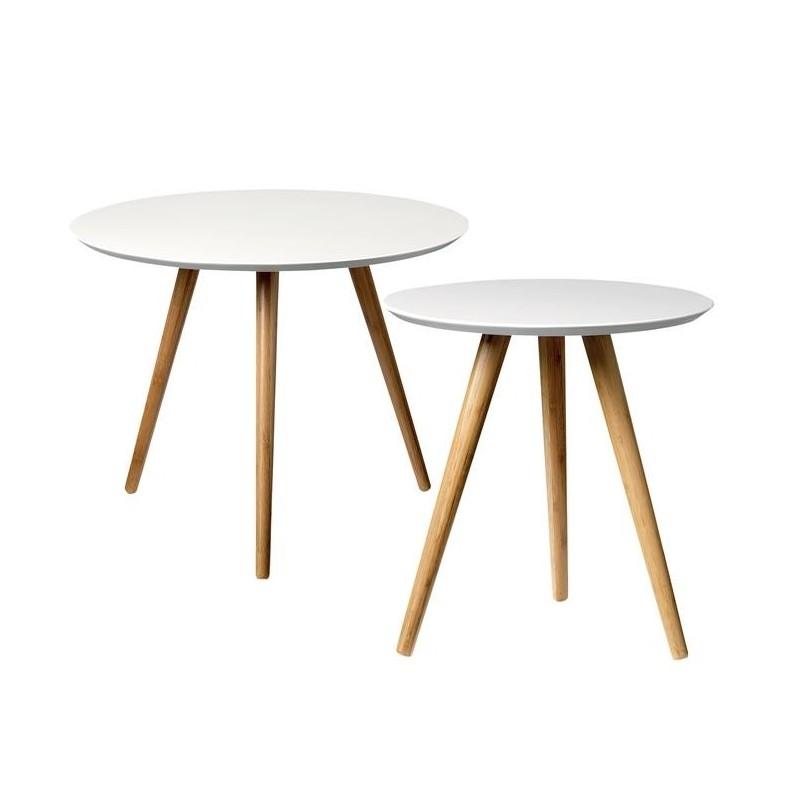 Bloomingville Set of 2 Coffee Tables