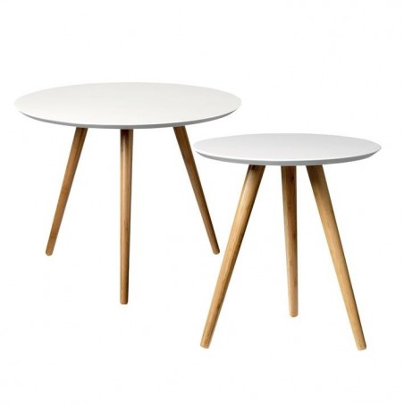 Bloomingville Set of 2 Coffee Tables