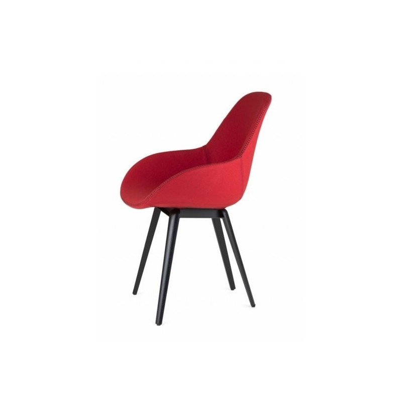 Slice Dimple Tailored Chair by Kubikoff | Fabric