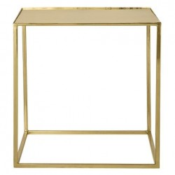 Bloomingville Table Gold Finish