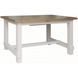 The Farmhouse Small Extending Dining Table in Reclaimed Pine