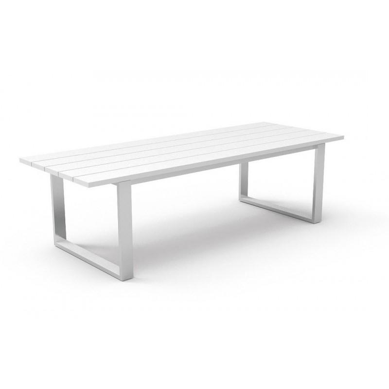 Essence White Aluminium Outdoor Dining Range
