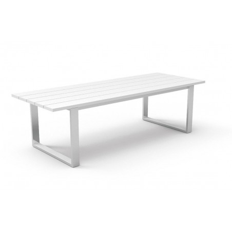 Essence White Aluminium Outdoor Dining Range