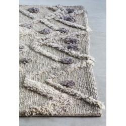 Massimo Afghan Natural Wool Bur-Bur Rug