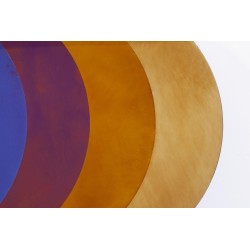 Transience Multicoloured Large Circles Mirror