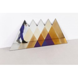 Transience Multicoloured Large Triangles Mirror