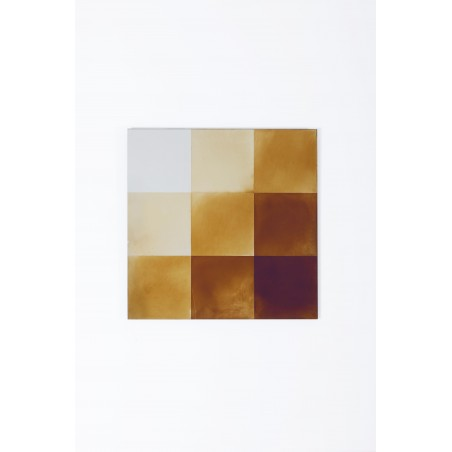 Transience Multicoloured Small Square Mirror
