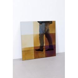 Transience Multicoloured Small Square Mirror