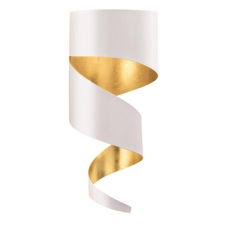 Gibas Remi Steel Wall Lamp | Silver or Gold Foil
