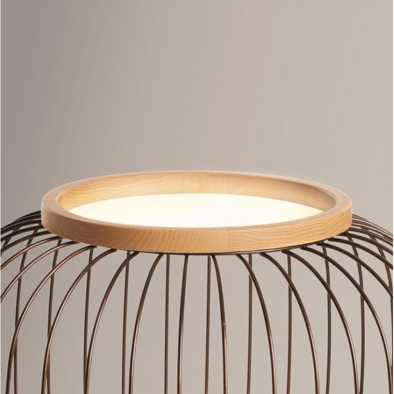 Chaplin Small Floor Lamp - Beech or Wenge