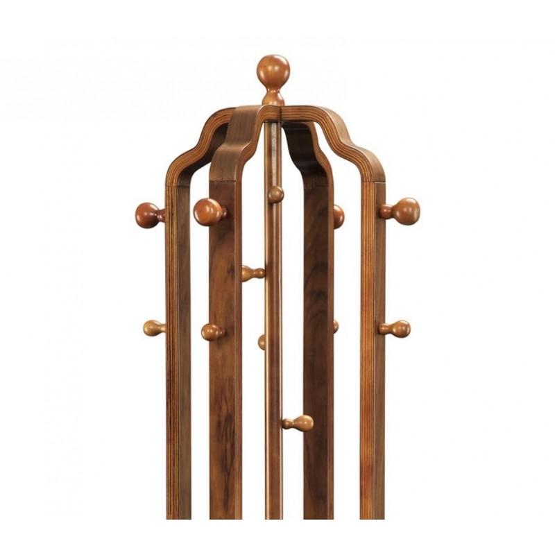 Arpa Walnut Mid-Century Coat Stand