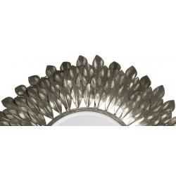 Garland Brushed Grey Iron Mirror