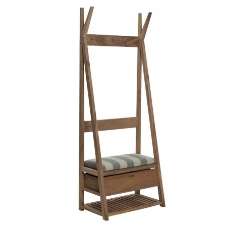 Tunicam Hall Coat and Hat Stand with Drawer