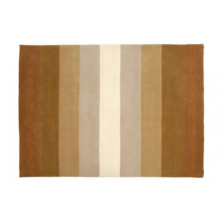 Terra Firma Pure Wool Rug - Earth Tones