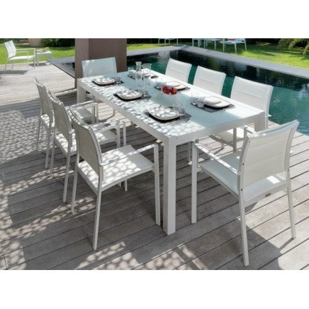 Talenti Touch Outdoor Extending Dining Table