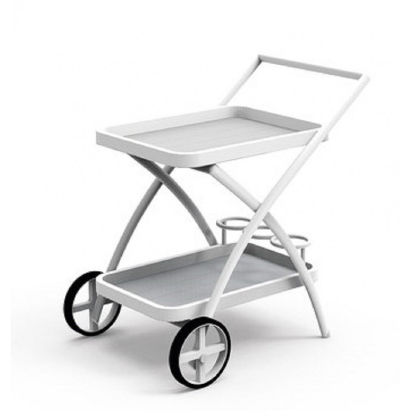 Talenti Touch Outdoor Tea Cart - White or Dove
