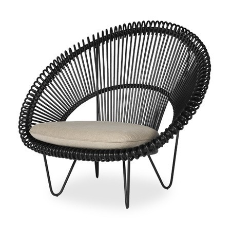 Vincent Sheppard Roy Cocoon Garden Lounge Chair with Cushion