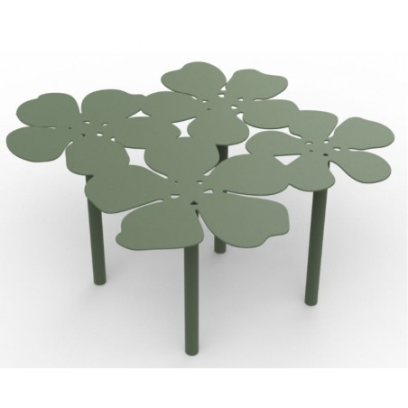 Small Notus Outdoor Aluminium Coffee Table | 30 Colours