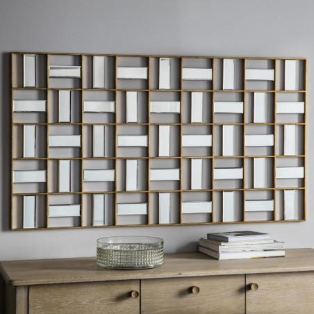 Highgate Rectangular Wall Art Mirror