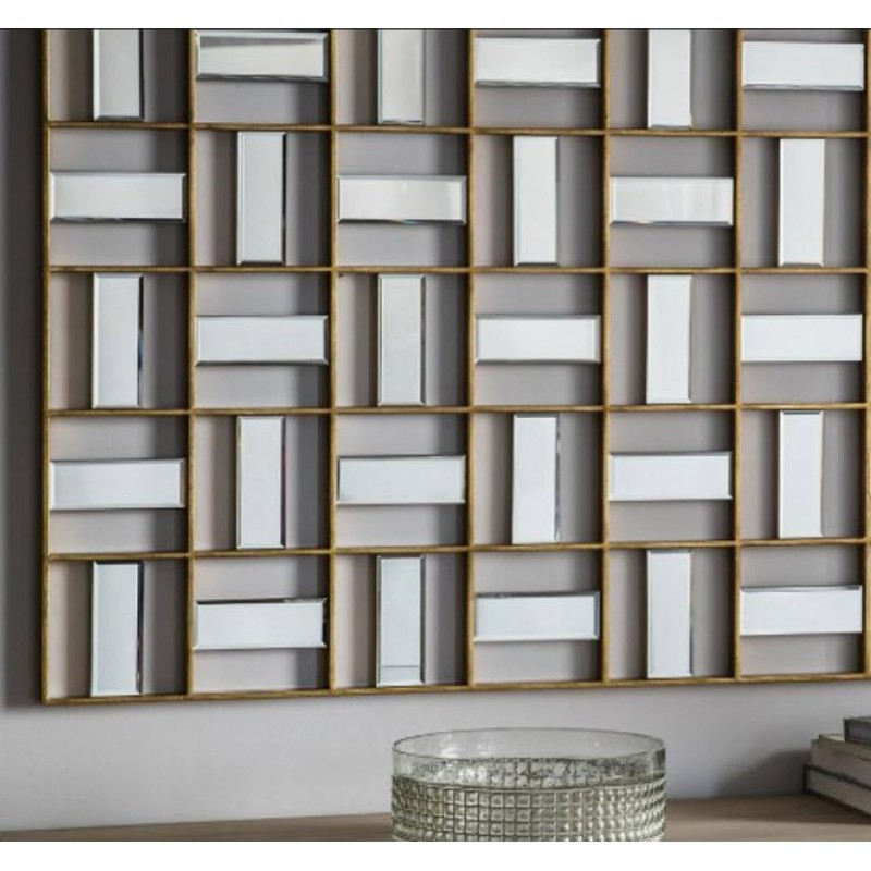 Highgate Rectangular Wall Art Mirror