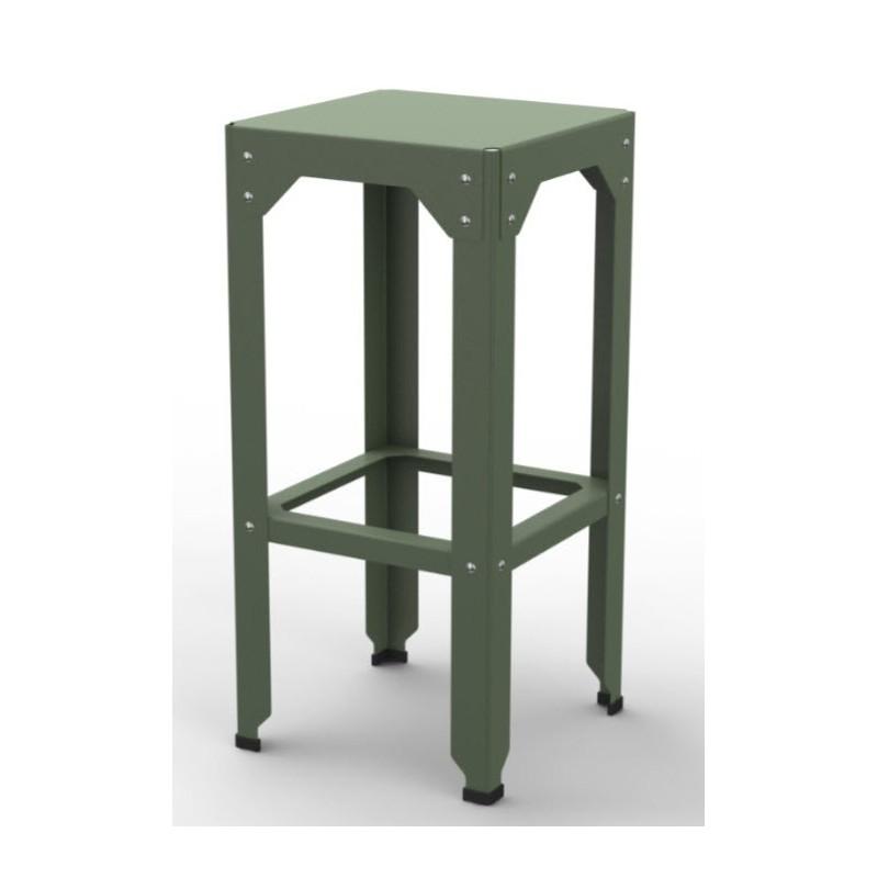 Hegoa Galvanised Steel Stool | 30 Colours | 3 Heights